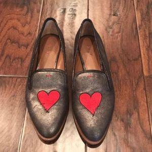 Ellen DeGeneres love loafers sz 8